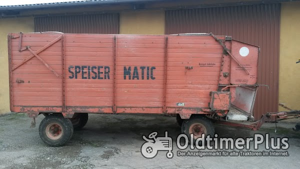 Weidner Ladewagen / Speisermatic Foto 1