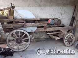 Sonstige Historische Tischbandkreissägewagen aus Holz