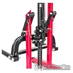 Hydraulik Reifen Montagehilfe höhenverstellbar | max 800 kg Foto 2