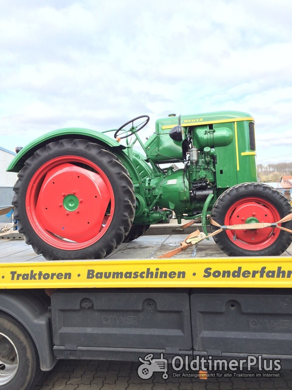 Traktortransporte Treckertransporte , Lanz Bulldog , Eicher , Porsche , Hanomag , IHC , Fendt , Deutz , Eicher Foto 5