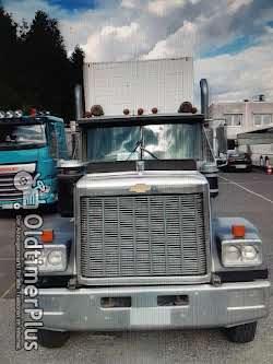 Seltener US Oldtimer Truck SZM Chevrolet Bison . Peterbilt 1979 Chevrolet Bison US Semi Truck Detroit Diesel GMC Foto 9