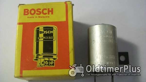Bosch 0336201003 FORD / DAF- BLINKGEBER / BLINKRELAIS 6V 2x18W+2W Foto 1
