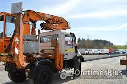 Mercedes Unimog U140 mit 9,80 Meter Kran Foto 10