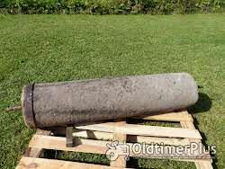 2 alte Sandstein Walzen Foto 8