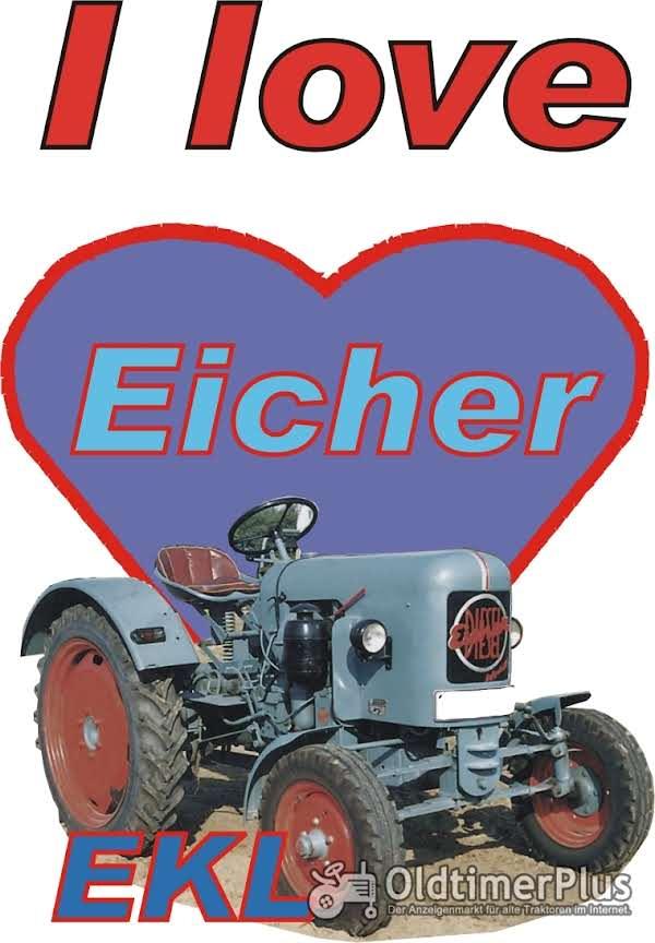 I love Eicher EKL T-Shirt Foto 1