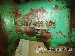 ZF A205 / A208 Achsrohre Achstrichter Getriebe Oldtimer Schlepper Traktor Achstrichter Achsrohre FAHR GÜLDNER ZF A205 / 208 Getriebe  Foto 3
