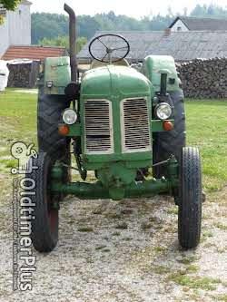 Sonstige Oldtimer Traktor Famulus 14/30 von 1958 , DDR Schlepper Foto 3