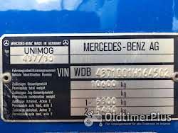 Mercedes Unimog U1700 Foto 9
