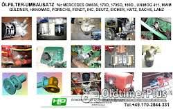 DEUTZ Motor D3006 D3005 D30 F2L 612 712 812 912 Ölfilter Adapter Umbausatz Ölfilterumbausatz  Spaltfilter Siebfilter Foto 4