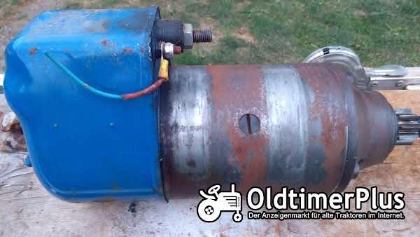 Hanomag BOSCH Anlasser Starter BNG 4/12 CR225 Foto 1
