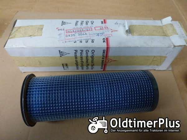 Deutz DX Trockenluftfilter 04353066 Foto 1