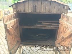 Dreschmaschinenantrieb, historisches Altertümchen Foto 3