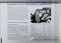 Opel Büssing Hanomag Saurer Mulag Krupp MAN Hansa-Loyd Magirus Dürkop Diesel Motor 1939 neu Foto 4