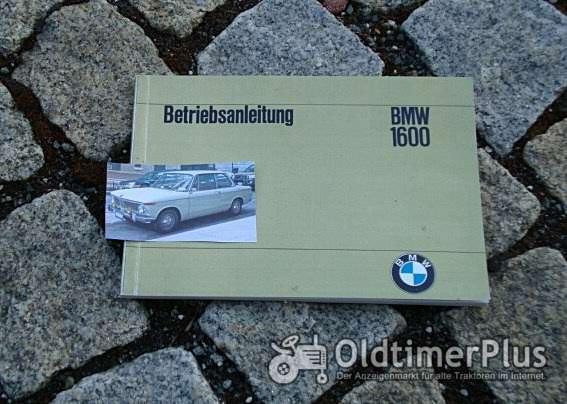 Betriebsanleitung BMW 1600-2 1967 02er Foto 1