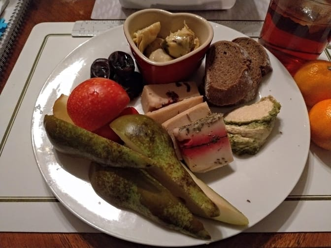 decadent cheese plate of luxury and dreams