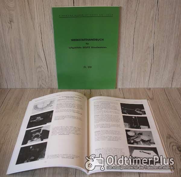 Deutz Werkstatthandbuch  Motor F1L310 - F2L310 – F3L 310 – F4L 310 Foto 1