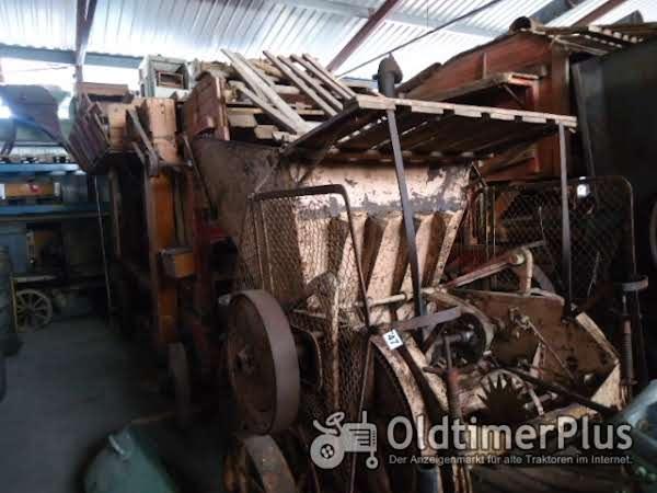 Lanz Heinrich  Dreschmaschine mit Presse Foto 1