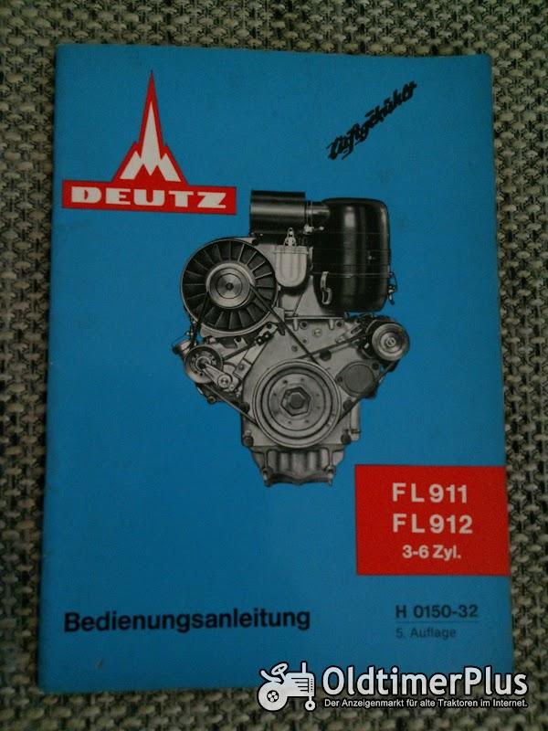 Deutz FL 911 FL 912 Motoren Bedienungsanleitung Foto 1