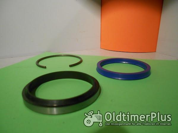 STOLL Dichtsatz Kolbenstange 60 mm Orginal Nr. Dichtsatz Kolbenstange 60 mm Nr.043240 3 Teilig Foto 1