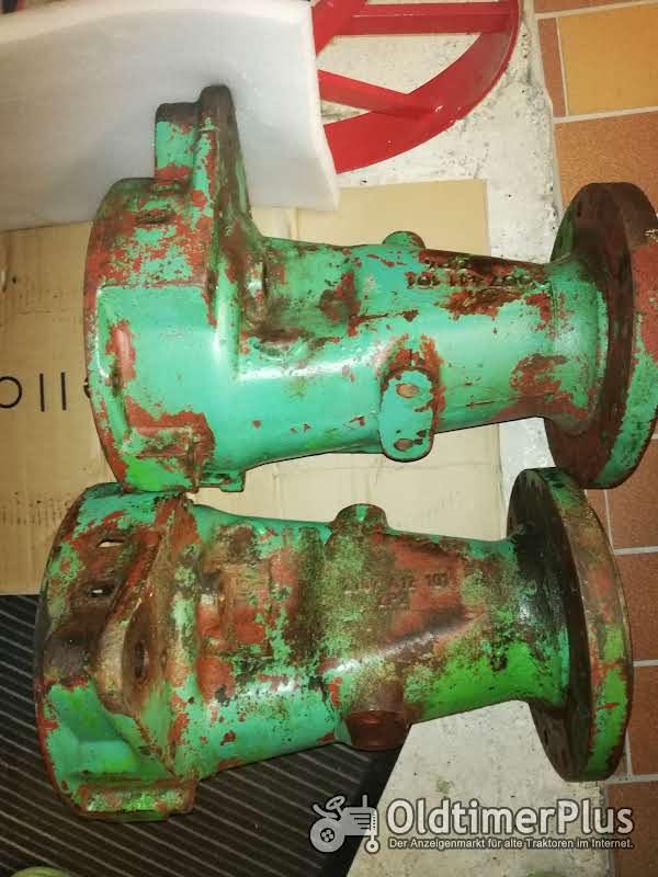 ZF A205 / A208 Achsrohre Achstrichter Getriebe Oldtimer Schlepper Traktor Achstrichter Achsrohre FAHR GÜLDNER ZF A205 / 208 Getriebe  Foto 1