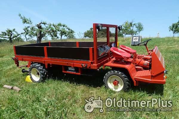 Sonstige Schweizer Bergtraktor, Schlepper des Herstellers Bucher, Typ TRL 2600 Foto 1