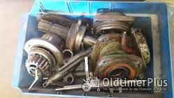 Deutz d25.2/d30 Getriebeteile mit Gehäuse Foto 6
