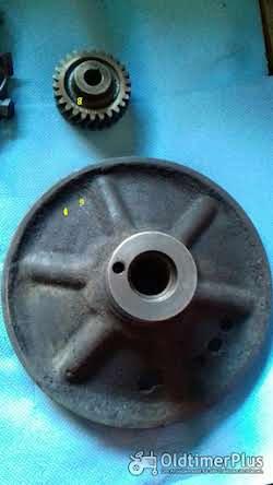 Deutz F3L812, D4005, Motorenteile Deutz F3L812, Riemenscheibe, Ölpumpe, Zahnrad Foto 3