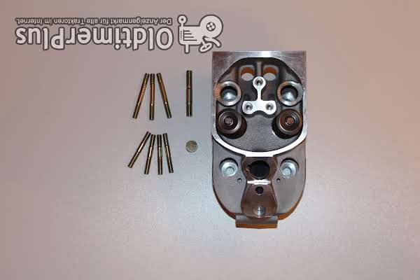 Deutz Zylinderkopf Neu passend für  Motor FL912 Serie komplett Foto 1