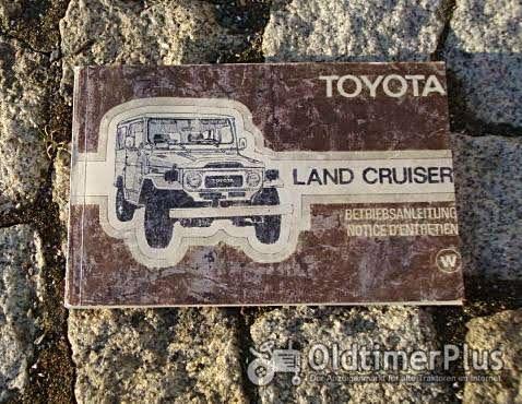 Betriebsanleitung Toyota Landcruiser 1979 inkl Stationwagon FJ40 BJ40 FJ45 BJ45... Foto 1