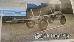 Welger SUCHE  Welger AZK 60F mit Kutschbock und Universal-Stahl-Plattformwagen der 30er Foto 2