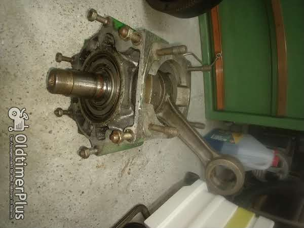 ILO DL660  JLO Dieselmotor JLO Dieselmotor in Teilen Foto 1