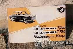 Literatur Betriebsanleitung Glas Isar T 600 700 1958 Goggomobil