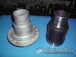 Turbokupplung, Hohlwelle, Kupplungswelle, Antriebswelle, Zahnwelle Foto 2
