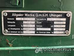 Allgaier A 133 , Porsche System Foto 6