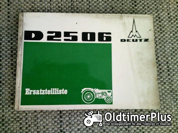 Deutz D2506 Ersatzteilliste Foto 1