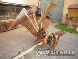 Krupp Getreidemäher ,Flügelmaschine, Getreideableger, Flügelmäher Foto 4