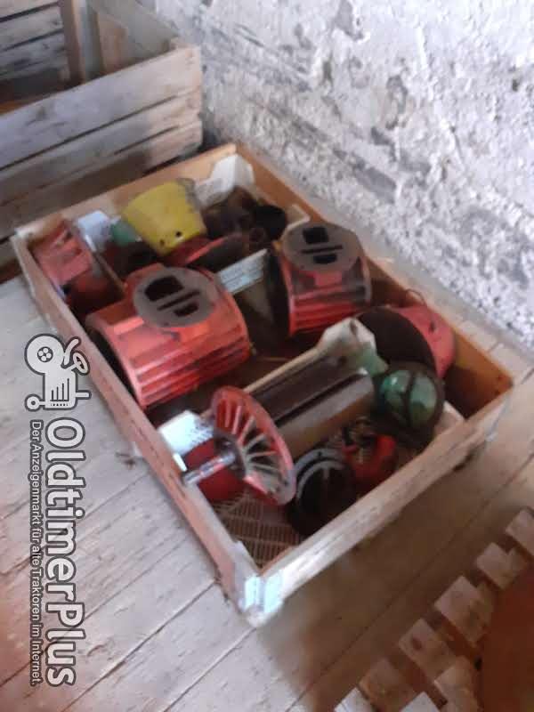 Vakuumpumpen in Einzelteilen Foto 1