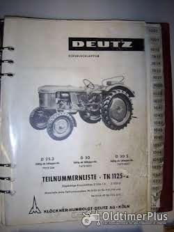 Deutz-Motoren Teilnummerliste Foto 5