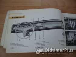 orig. Betriebsanleitung Ford P6 15M 1968 Foto 3