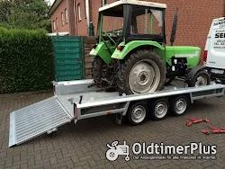 Transporte Überführungen Rückholdienst Einzeltransporte Eiltransport Trecker Traktor Eicher Foto 4