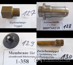Holder Feldspritze, Rückenspritze, Düsen, Weitwurfdüsen, Ersatzteile Sortiment E Foto 2