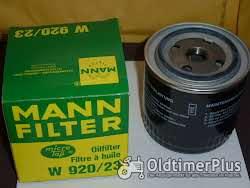 MANN Ölfilter W920/23