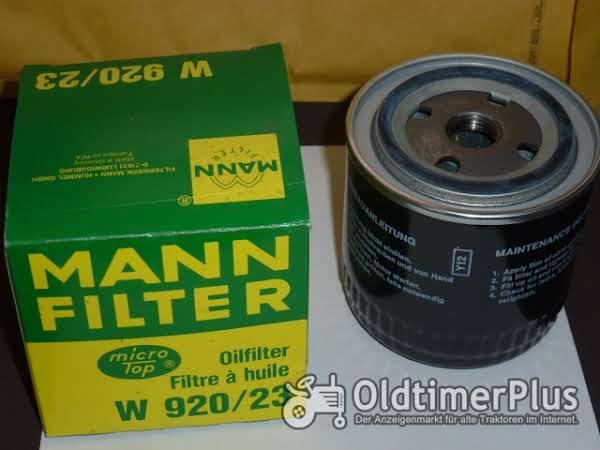MANN Ölfilter W920/23 Foto 1