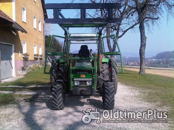 Fendt Farmer 102LS Turbomatik mit Frontlader Foto 1