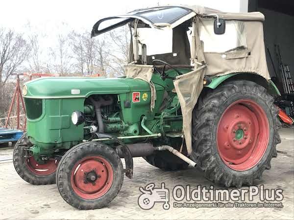 Deutz D 4005 mit Verdeck , TÜV neu , Oldtimer Traktor Schlepper Foto 1