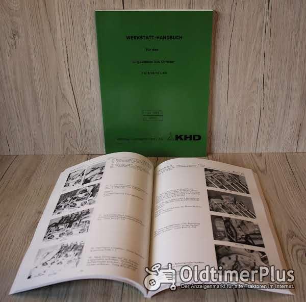 Deutz Werkstatthandbuch Motor F6L413V – F8L413 – F10L413 – F12L413 Foto 1