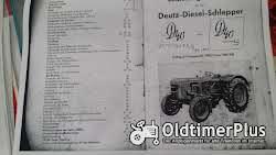 Literatur Deutz Betriebsanleitung D40 und D40S