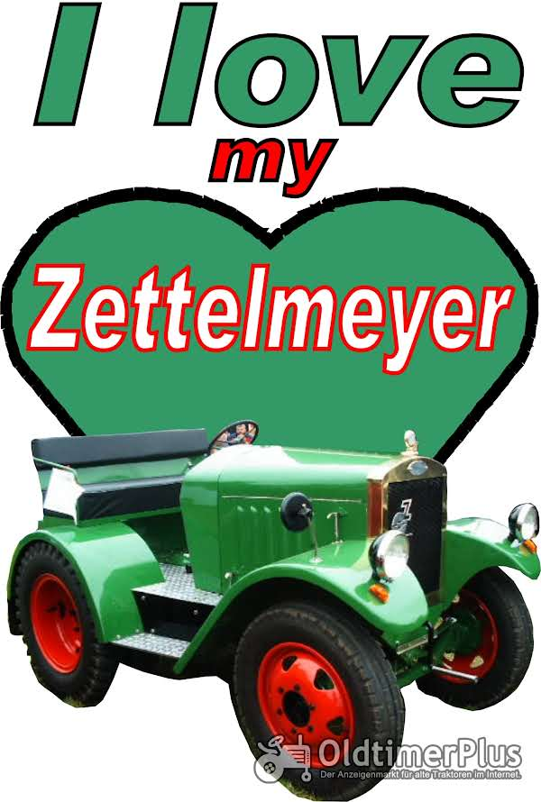 I love Zetttelmeyer T-Shirt Foto 1