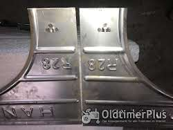 Hanomag R28 Seitenteile Rechts und Links Neu angefertigt und Grundiert in 2 K Lack Foto 4