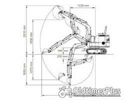 AgrimeXX HT12 Minibagger, 1 to, Knickmatik, Löffelpaket uvm. Foto 4